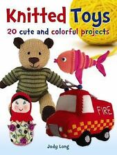 KNITTED TOYS - LONG, JODY - NEW PAPERBACK BOOK