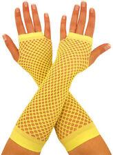 Gants jaunes pour déguisements et costumes