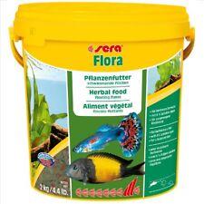 Sera Flora Vegetable Diet 2Kg / 10L Trop Veggie Fish Food Flakes