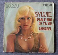Sylvie Vartan, parle moi de ta vie / Annabel, SP - 45 tours