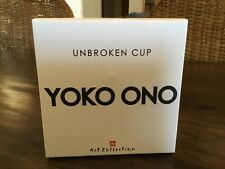 ILLY Art Collection - YOKO ONO - Unbroken Cup - 1 Espresso Cup Gift Set Box New
