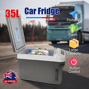 35L Portable Camping Fridge Car Boat Caravan Home Cooler Warmer Refrigerator O