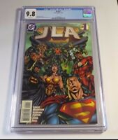 JLA #1 -1997 Grant Morrison Batman Superman Wonder Woman Flash CGC 9.8 WHITE PGS