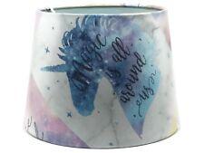 Unicorn Lampshade Ceiling Light Shade Princess Horse Girls Bedroom Nursery Quote