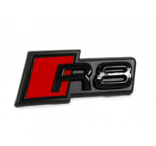 Genuine Audi Front Gloss Black R8 Grille Badge