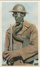 N°23 American Soldier USA Infantry Gas mask World War Germany WWI 30s CHROMO
