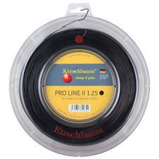 Kirschbaum Pro Line II (Black) 1.25mm/17 200m/660ft Tennis String Reel