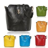 Ladies Faux Leather Saddle Bag Shoulder Bag Girls Messenger Bag Handbag G8203