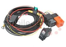 Land Rover Defender climatizada Pantalla Frontal Kit De Cables Con Carling Switch dos Tab