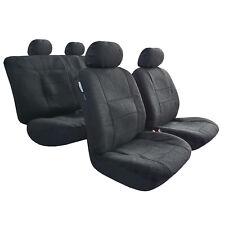 Sheepskin Like Seat Covers, Black Imitation Lambswool, For Holden Cruze