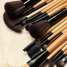 18 Pcs Professional Cosmetic Makeup Brushes Set Foundation Eyeshadow Brush+Bag