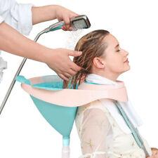 Salon Equipment Portable Foldable Silicone Shampoo Basin Rinse Bowl Drain Tube