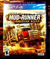 Mud Runner American Wilds - PS4 - Sony Playstation 4 - Brand NEW - Sealed