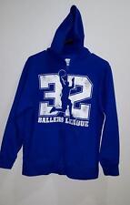 Old Navy Boys Size L 10-12 Husky Zippered Basketball Hoodie Sweatshirt Blue