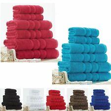 Set  Of 10 Towels 100% Egyptian Cotton 500 Gsm Hand + Face & Bath Cotton Towel