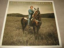 MEL TILLIS Me and Pepper ORIGINAL FACTORY SEALED NM LP 1979 6E-236 CutOut