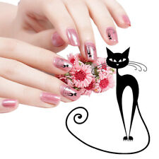 Cat  Water Transfer Nail Sticker Slide Decal Sticker Nail Art Tips To Decor~~