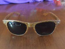 Liberty University Sunglasses Faux Wood Grain Plastic