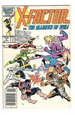 X-Factor #5 NEWSSTAND 1st Cameo Appearance of Apocalypse 1986 Fine+