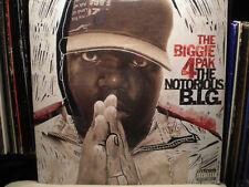 THE NOTORIOUS B.I.G. - THE BIGGIE 4 PAK (VINYL 2EP)  2005!!  RARE!!!  BIG PUN!!!