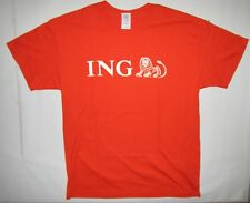 ING Bank T Shirt Banking Investments Banking Logo Lion Size Large 50/50