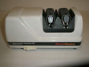 CHEFS CHOICE DIAMOND HONE FLEXHONE STROP ELECTRIC KNIFE SHARPENER  MODEL 320
