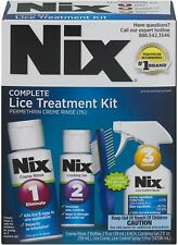 Nix Complete Lice 3 Step Treatment Kit For Lice & Bedbugs Bedding & Furniture