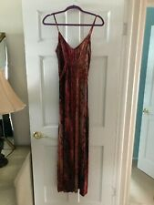 VICTORIA SECRET MODA Stretch Dress Maxi A-Line -Size M -Excellent Condition