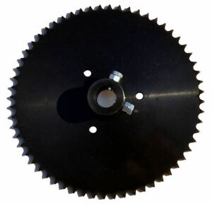 """Live Axle Sprocket, 60T, for 40/41/420 chain, 1"""" bore"""