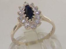 Marquise Natural Sapphire Fine Rings
