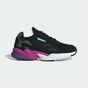 Adidas CG6219 Women Falcon Running shoes black pink Sneakers