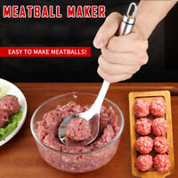 Meatball Maker Non-stick Stainless Steel Meat Spoon Baller Kitchen Utensil Tools