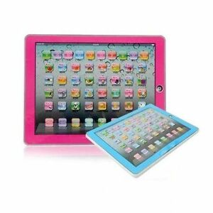 English YPad Educational Learning Tablet Computer i-pad Toy Kids Children gift!