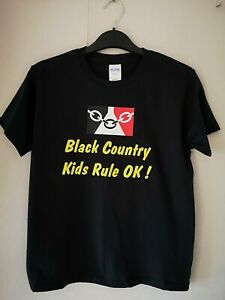 Youths Black Country Teeshirt Large