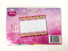 Disney Princess Tablecover Sparkle Plastic Kids Girls Birthday Party Supplies