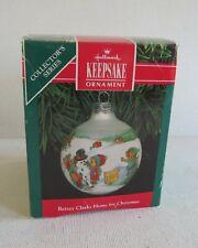 Vintage Hallmark Keepsake Ornament Betsey Clark: Home for Christmas~1991