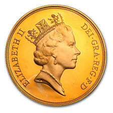 Great Britain Gold £5 BU/Proof - SKU #8866
