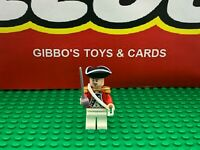 LEGO KING GEORGE'S OFFICER + sword minifigure PIRATES CARIBBEAN set 4193 soldier