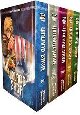 Vinland Saga Volume 1- 5 Collection 5 Books Set (Series 1) Makoto Yukimura Manga
