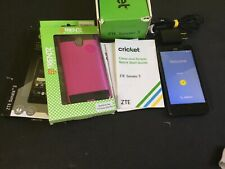 ZTE Sonata 3 Smartphone Cricket Blue Android Phone FREE Screen Protection