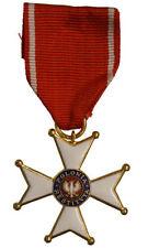 WW2 R@R@ MEDAGLIA A CROCE - POLONIA RESTITUTA 1944 - SPLENDIDA CONSERVAZIONE