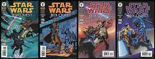 Star Wars Jedi Quest Comic Set 1-2-3-4 Lot Obi-Wan Anakin Skywalker Darth Maul