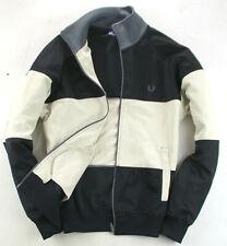Fred Perry Sweatshirt Hoddie Schwarz Gr. S