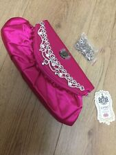 LYDC Handbag Clutch Bag Pink Towie Evening Bag Clubbing Bag Brand New With Tags