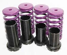 PURPLE 88-00 Honda Civic 94-01 Acura Integra Coilover Lowering Springs Kits