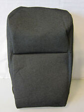 OEM FORD F-150 F150 JUMP CENTER 20 SEAT BACK COVER BLACK / STONE GREY GRAY CLOTH