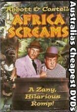 Africa Screams (Abbot & Costello) DVD NEW, FREE POSTAGE IN AUSTRALIA REGION 4