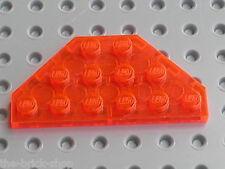 LEGO STAR WARS TrNeonOrange Plate ref 2419 / Set  7257 Ultimate Lightsaber Duel