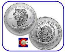 1997 Disco de la Muerte,  Mascara, Vasija, Jugador de Pelota -- 4-1oz Ag Coins