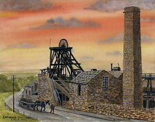 Caphouse Colliery - circa 1900 - Ltd Ed Print - Pit Pics - Coal Mining